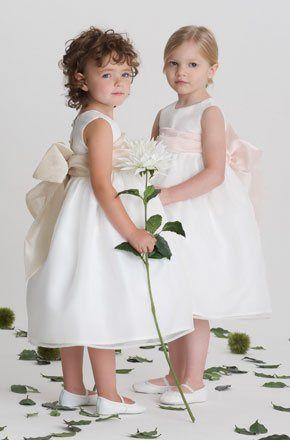 our flower girl dress