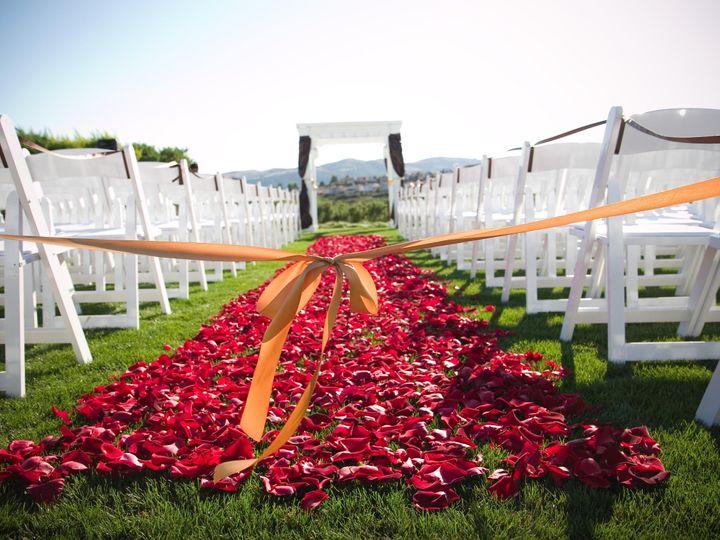 Tmx 1395346791404 2008 Ceremony Terrace Rose Petals Chocostudio  San Ramon, California wedding venue