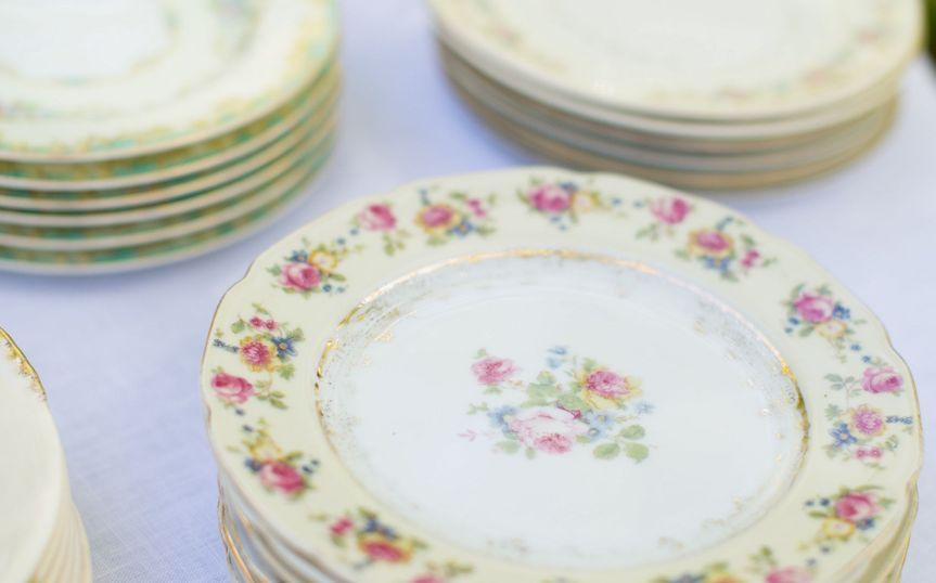 Dainty plates | Katherine Miles Jones Photograph