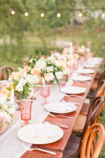 Table setup | Katelyn James Photography