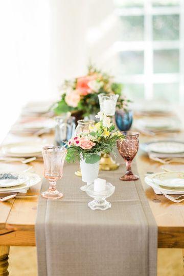 Flower decors | Annie Watts Photography