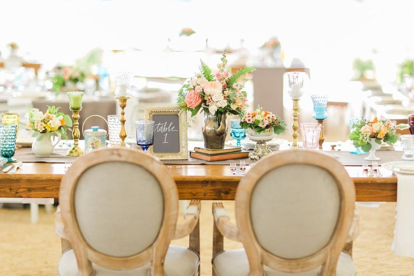 Sweetheart's table | Annie Watts Photography