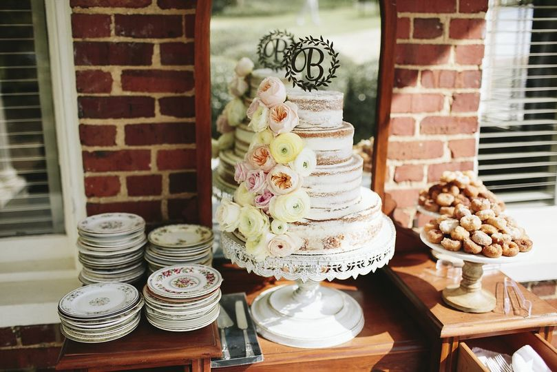 Wedding cake | Natalie E Photography