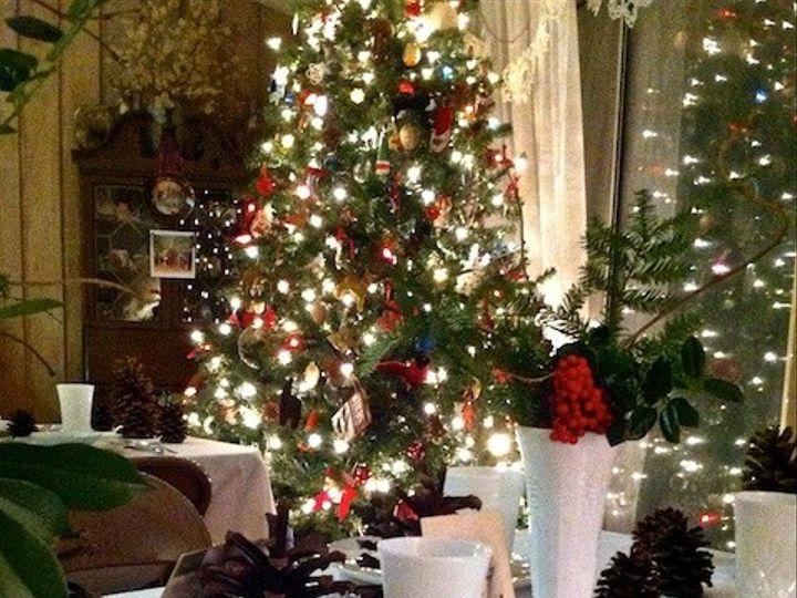 Tmx 1387499342509 Pink Plates Tree 02 Hillsborough, North Carolina wedding rental