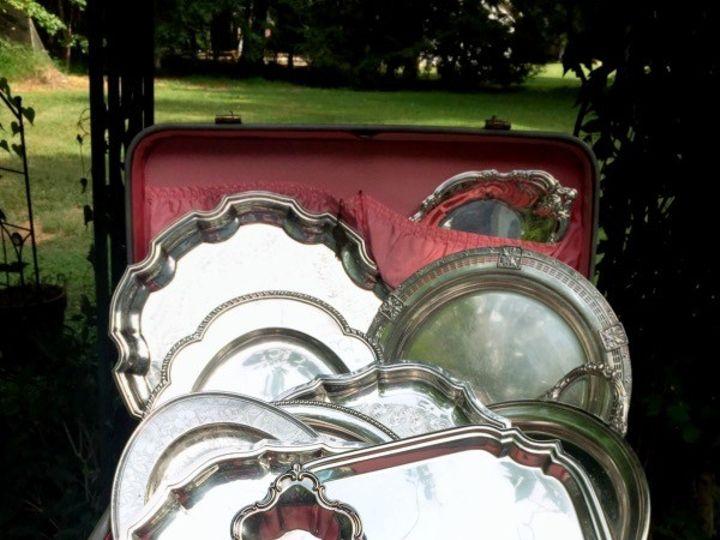 Tmx 1449889910316 Suitcases With Platters Hillsborough, North Carolina wedding rental