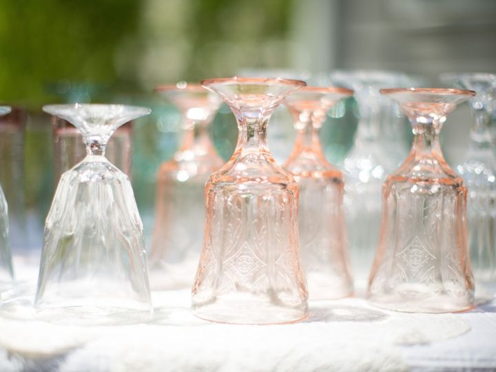 Tmx 1466076909658 Clear Pink Glassware Shower Hillsborough, North Carolina wedding rental