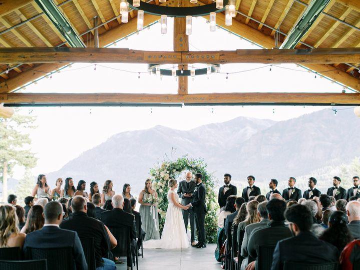Ceremony in Pavilion