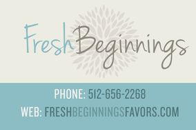 Fresh Beginnings Wedding and Event Favors