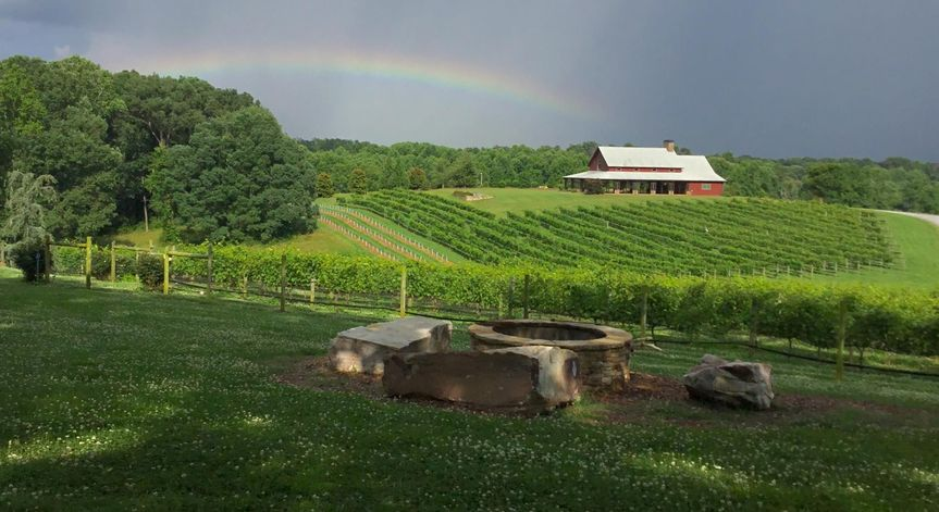 vineyard venue pic with rainbow 51 564606 158215006351843