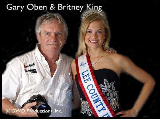 Gary with Miss Lee County