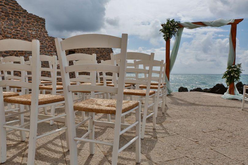 Ancient molo beach Cefalù