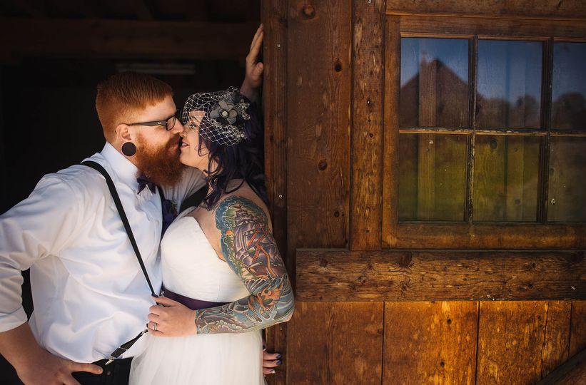 tattooedbriderusticwedding