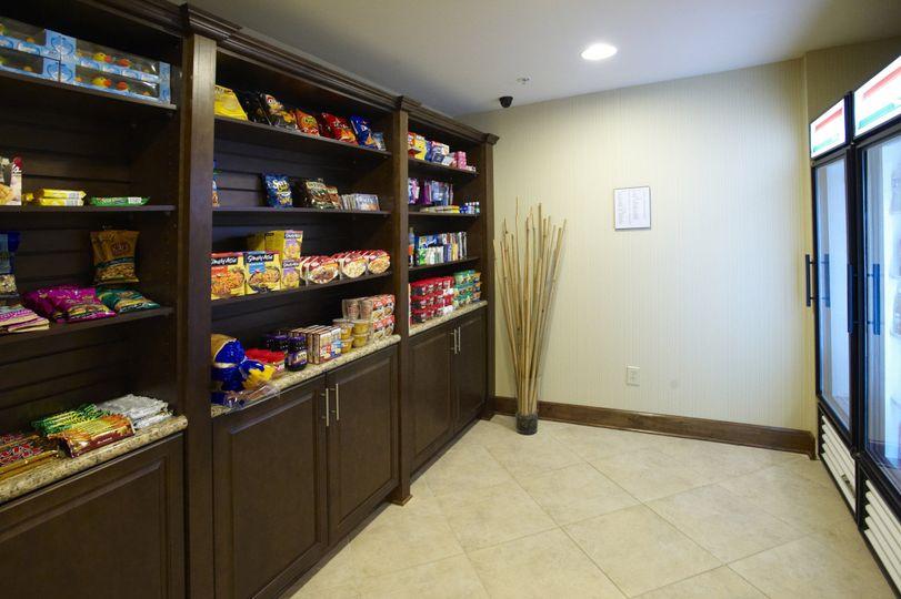 Suite Shop - open 24 hours for guests convenience