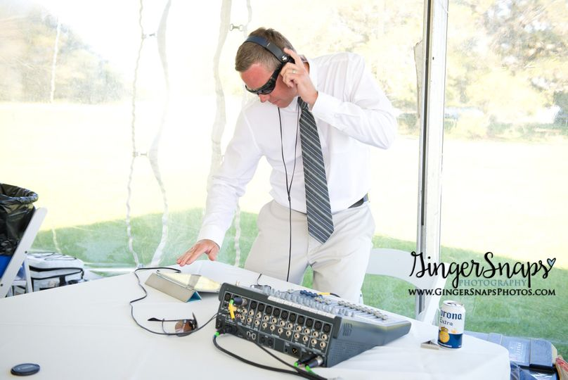 Offering DJ services as well as live entertainment.