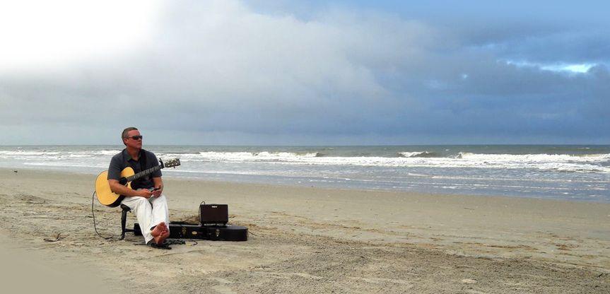 Ceremonial beach music.