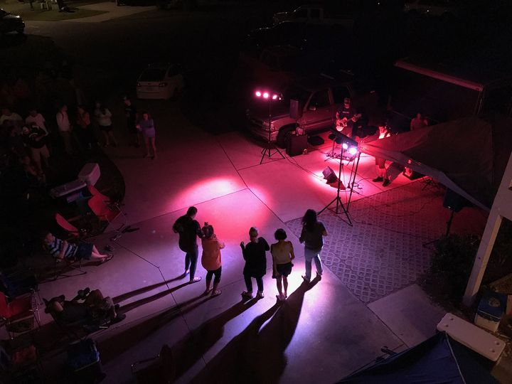 Private Party Gig in the Cul-de-sac, Rodanthe, NC 2017