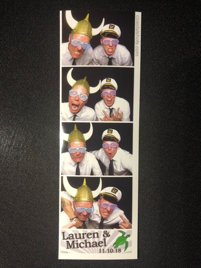 Gotta have a photo booth pic!