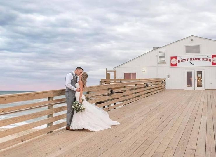 Pier House- Bride and Groom