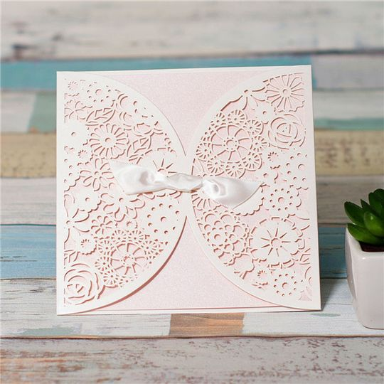 Elegant Aly Am Paperie Invitations U0026 Gifts   Invitations   San Antonio, TX    WeddingWire