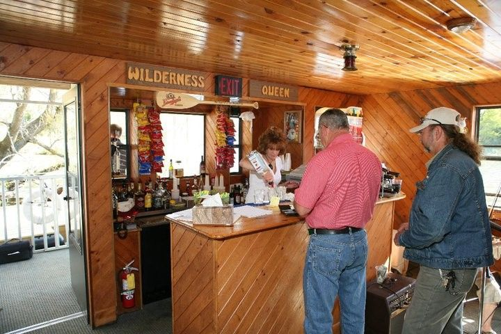 Inside of Wisconsin River Cruises