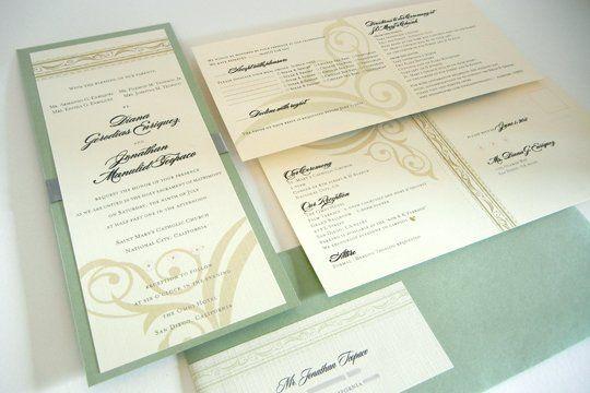 Tmx 1342492592110 Weddinginvitedijon1 Chula Vista wedding invitation