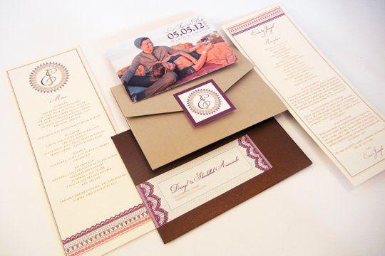 Tmx 1342492597803 Weddinginviteerinjr1 Chula Vista wedding invitation