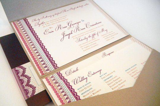 Tmx 1342492602283 Weddinginviteerinjr2 Chula Vista wedding invitation