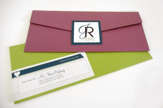 Tmx 1342492611060 Weddinginvitejosron5 Chula Vista wedding invitation