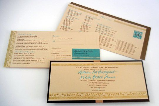 Tmx 1342492615419 Weddinginvitekatnick Chula Vista wedding invitation