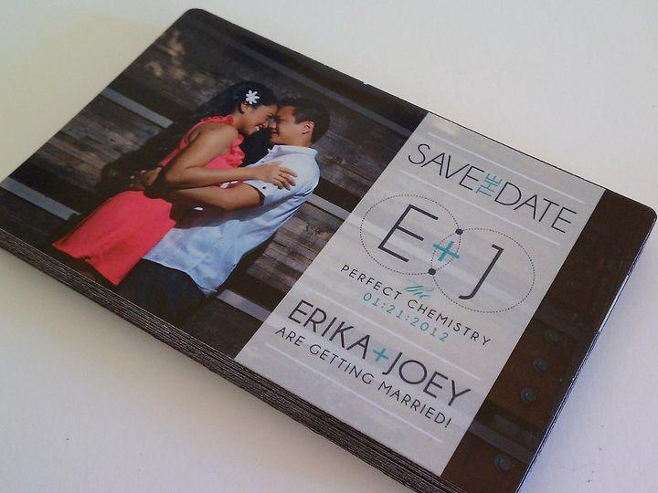 Tmx 1342492635420 Weddingmagneterikajoey Chula Vista wedding invitation
