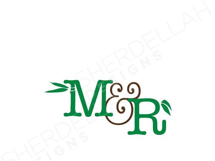 Tmx 1342771275155 Weddinglogosmarjrich2wm Chula Vista wedding invitation