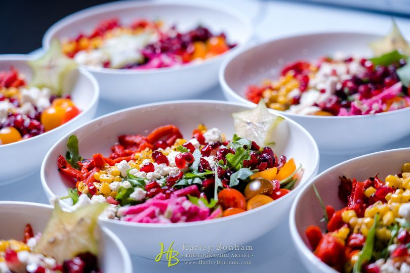 Plated Stetson Chopped Salad
