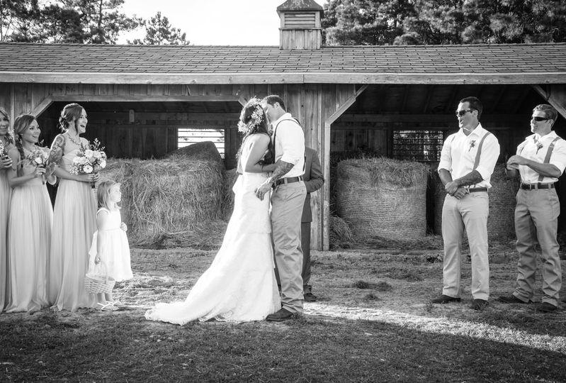 Little Barn paddock ceremony