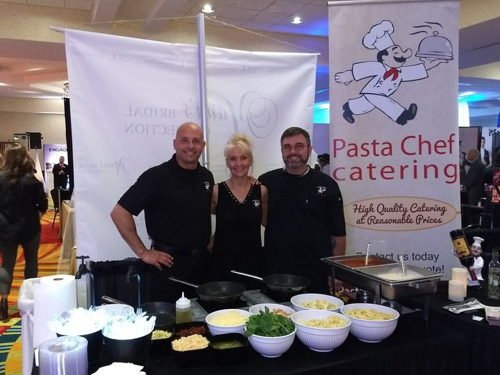 Pasta Chef Wins First-Place at the St. Pete Bridal Expo