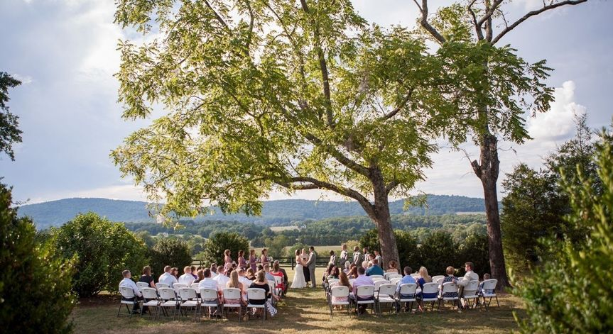aldrich ceremony 5 wolf trap farm ryan rach photo