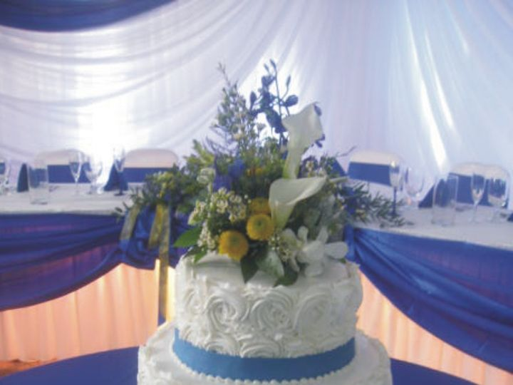 Tmx 1415586052366 Frosted By Roseswribbon Adrian wedding cake