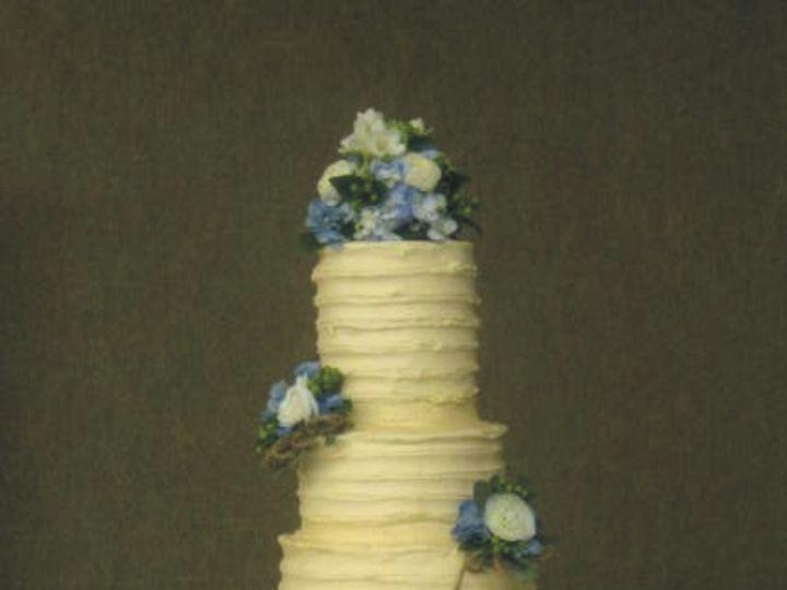 Tmx 1415586272917 Textured Wfrostingrustic Adrian wedding cake