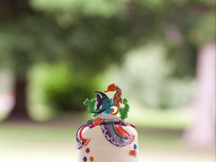 Tmx 1330534772389 SeahorseCake Spring Mills wedding cake
