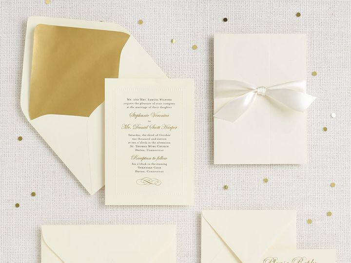 Tmx 1489593975182 Beadedborder2 Chicago wedding invitation