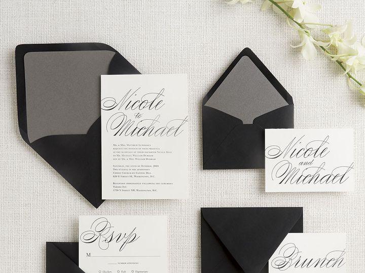 Tmx 1489593984020 Calligraphy2 Chicago wedding invitation