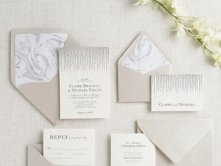 Tmx 1489594113298 Foilchandelier2 Chicago wedding invitation