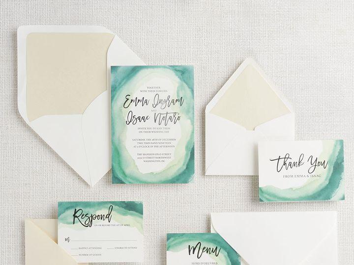 Tmx 1489596936223 Emerald2 Chicago wedding invitation