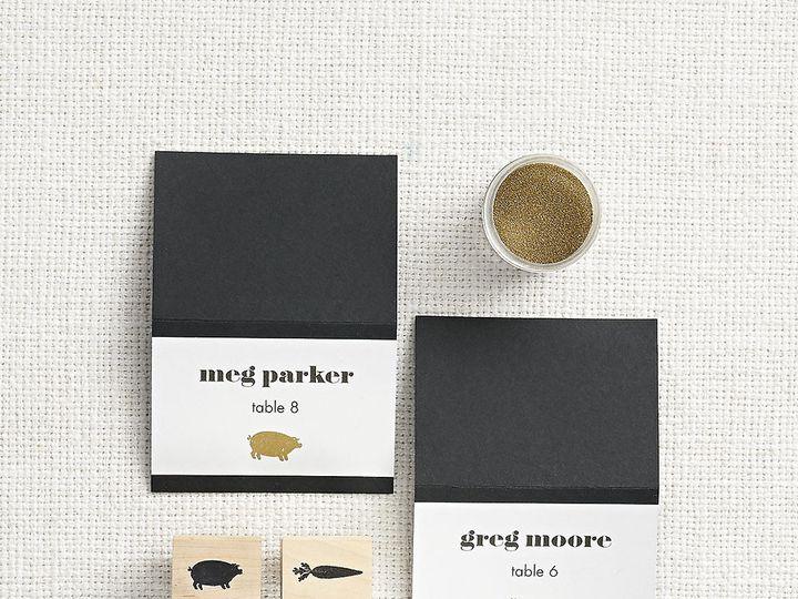 Tmx 1489597695217 Blackbrushborderdiy Chicago wedding invitation