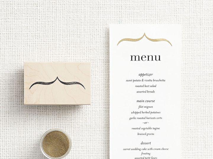 Tmx 1489598324046 Foilbrushbracketdiy Chicago wedding invitation