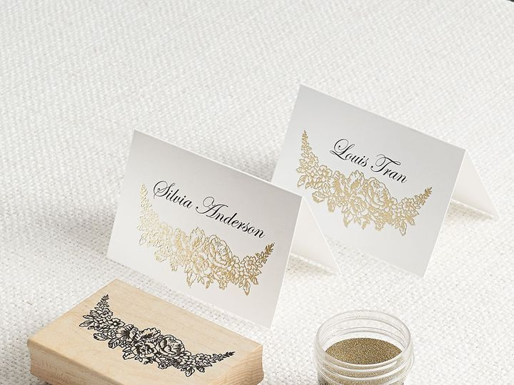Tmx 1489598354035 Foilfloralborderdiy Chicago wedding invitation