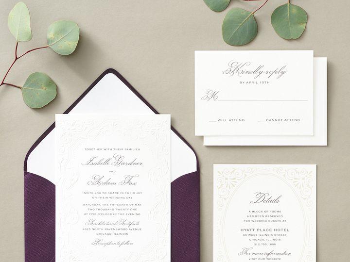 Tmx Antiqueelegance 3 51 26706 Chicago wedding invitation