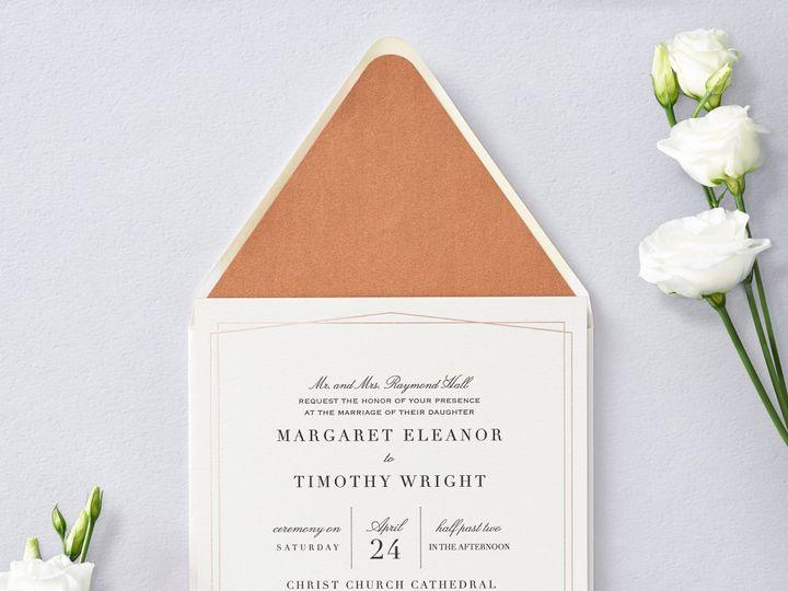Tmx Finelinefoil 1 51 26706 Chicago wedding invitation