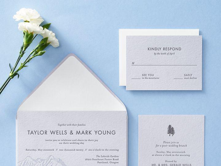 Tmx Mountainscape 2 51 26706 Chicago wedding invitation
