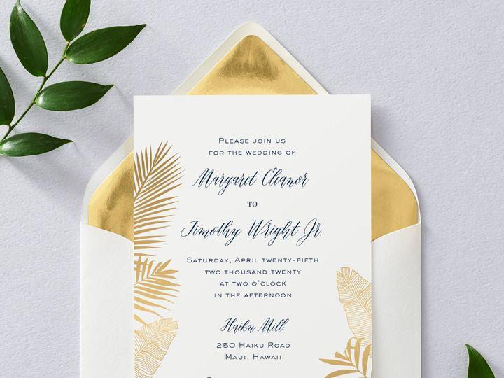 Tmx Palms 1 51 26706 Chicago wedding invitation