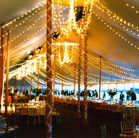 An old party we provided the tents, tables and chairs for. The lighting and ribbons were provided by...